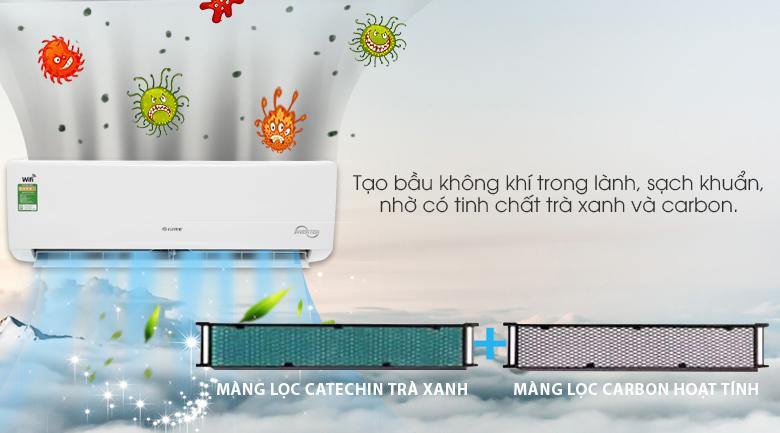 Máy lạnh Gree Wifi Inverter 1.5 HP GWC12BC-K6DNA1B – Công nghệ kháng khuẩn khử mùi