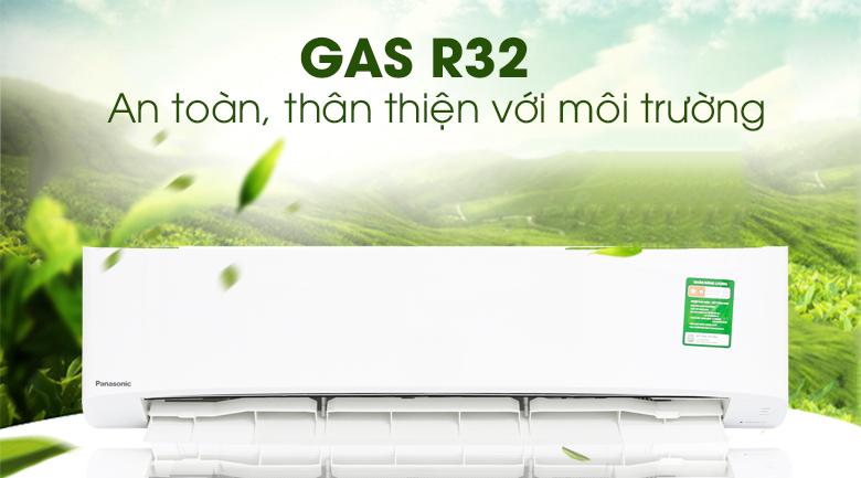 Gas R32 - Máy lạnh Panasonic 2 HP CU/CS-N18UKH-8