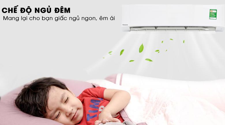 Chế độ ngủ ban đêm - Máy lạnh Panasonic 2 HP CU/CS-N18UKH-8