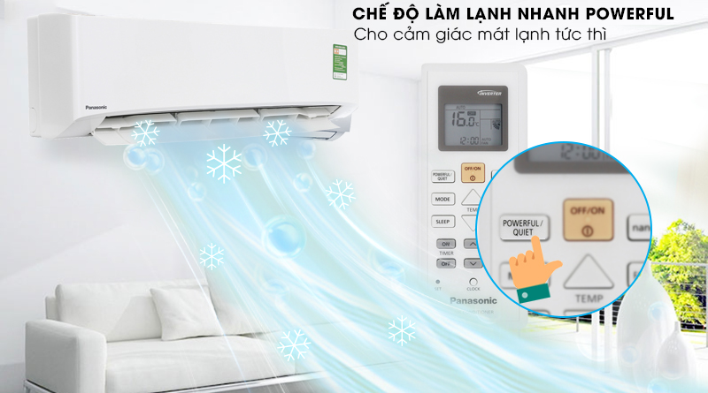 Powerful - Máy lạnh Panasonic 2 HP CU/CS-N18UKH-8