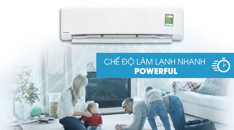 Powerful - Máy lạnh Panasonic 2.5 HP CU/CS-N24UKH-8