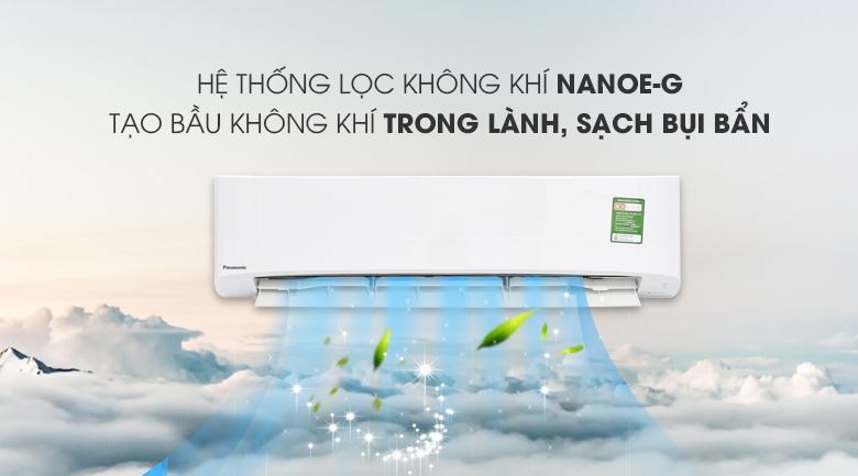 Nanoe-G - Máy lạnh Panasonic 2.5 HP CU/CS-N24UKH-8