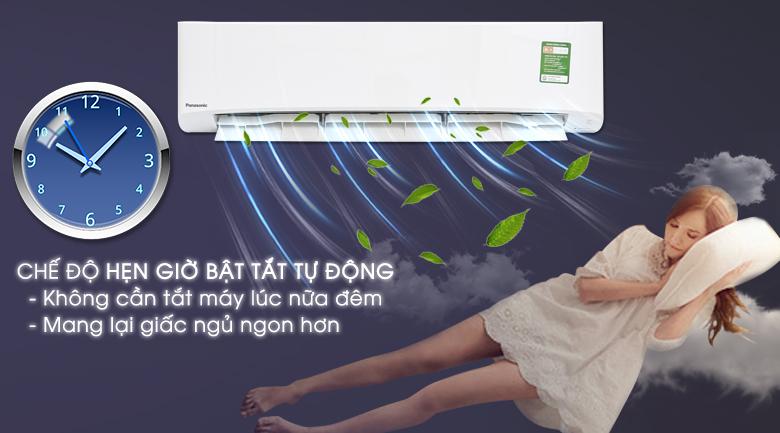 Chế độ hẹn giờ bật tắt máy - Máy lạnh Panasonic 2.5 HP CU/CS-N24UKH-8