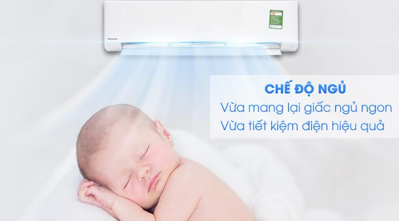 Chế độ ngủ đêm - Máy lạnh Panasonic 2.5 HP CU/CS-N24UKH-8
