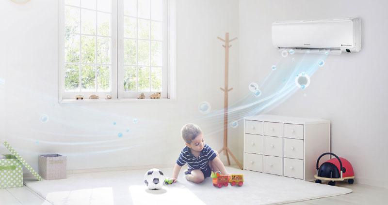 Không khí luôn trong lành với bộ lọc 3-Care Filter