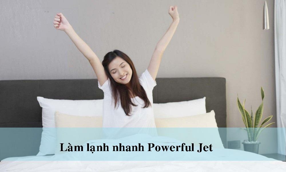 Powerful Jet