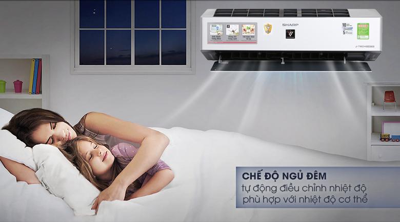 Máy lạnh Sharp Inverter Wifi 1.5 HP AH-XP13VXW