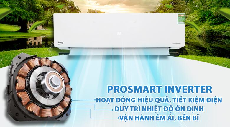 ProSmart Inverter - Máy lạnh Beko Inverter 1 HP RSVC10BV