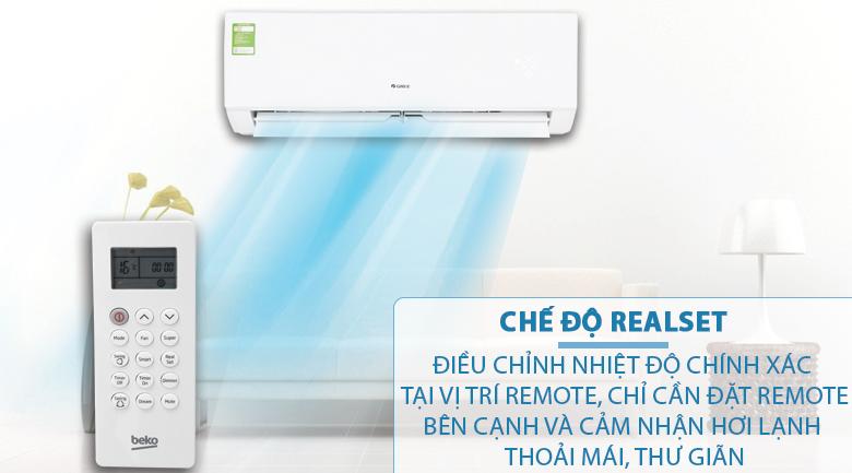RealSet - Máy lạnh Beko Inverter 1 HP RSVC10BV