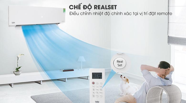 RealSet - Máy lạnh Beko Inverter 1.5 HP RSVC13BV