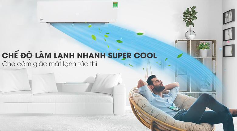 Super Cool - Máy lạnh Beko Inverter 1.5 HP RSVC13BV