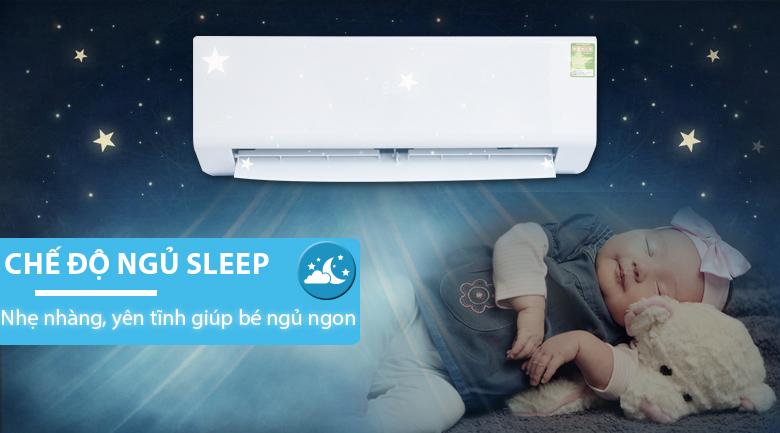 Chế độ vận hành khi ngủ - Máy lạnh Beko 1 HP RSSC09CV