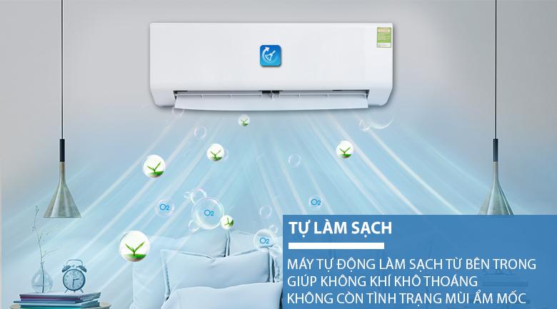 Chức năng tự làm sạch - Máy lạnh Beko 1 HP RSSC09CV