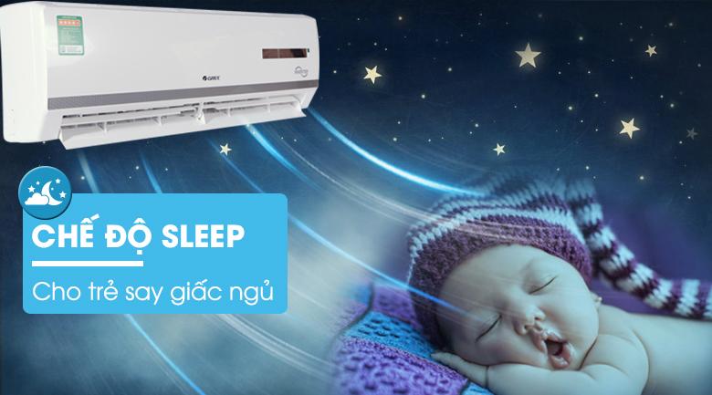 Chế độ ngủ Sleep - Điều hòa 2 chiều Gree Inverter 17150 BTU GWH18WC-K3DNB7L