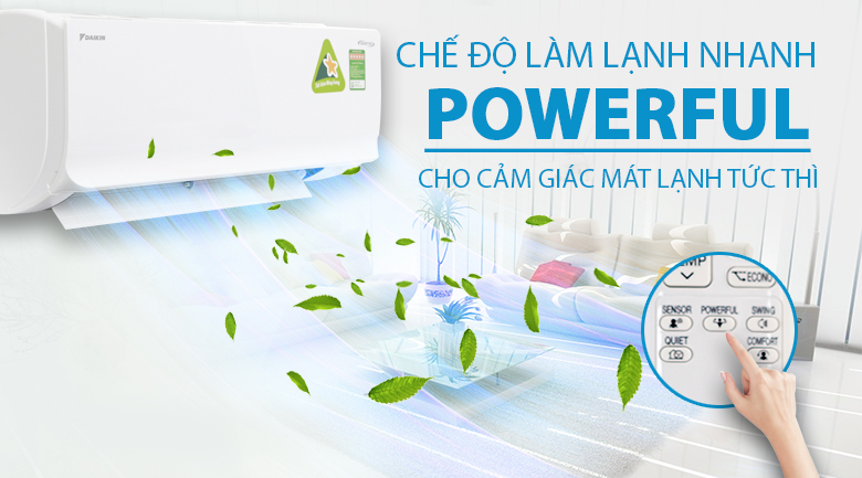 Powerful - Máy lạnh Daikin Inverter 1 HP ATKC25TVMV