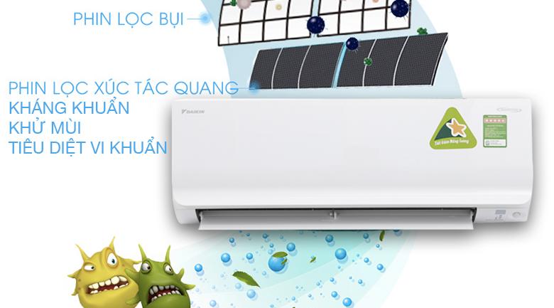Apatit Tian - Máy lạnh Daikin Inverter 1 HP ATKC25TVMV