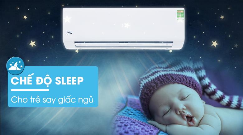 Chế độ ngủ đêm - Máy lạnh Beko 1.5 HP RSSC12CV