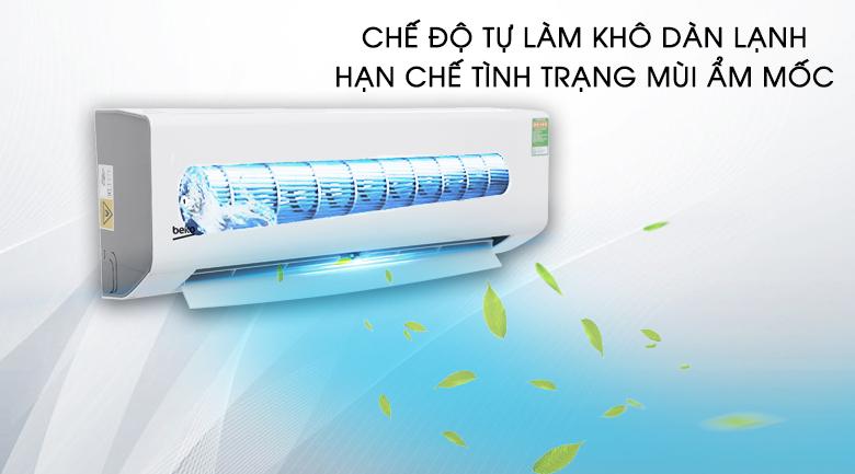 Tự làm sạch - Máy lạnh Beko 1.5 HP RSSC12CV