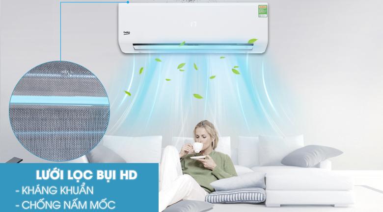 Bộ lọc HD - Máy lạnh Beko 1.5 HP RSSC12CV