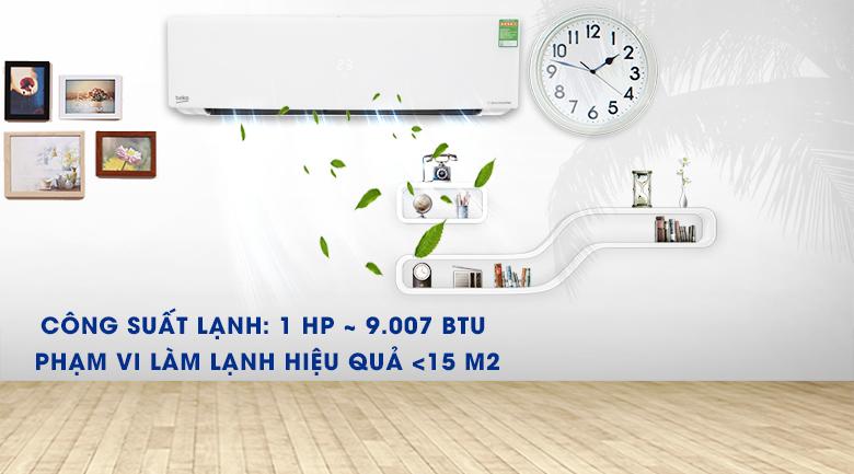 Máy lạnh Beko Inverter 1 HP RSVC10AV