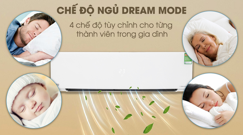 Dream Mode - Máy lạnh Beko Inverter 1 HP RSVC10AV