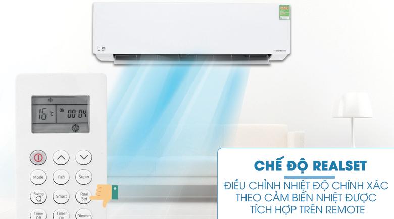 RealSet - Máy lạnh Beko Inverter 1.5 HP RSVC13AV