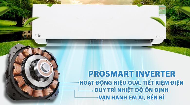 ProSmart Inverter - Máy lạnh Beko Inverter 2 HP RSVC18AV