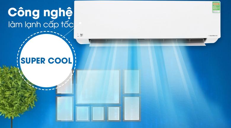Super Cool - Máy lạnh Beko Inverter 2 HP RSVC18AV