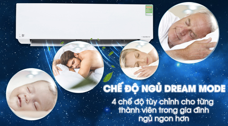 Dream Mode - Máy lạnh Beko Inverter 18285 BTU RSVC18AV