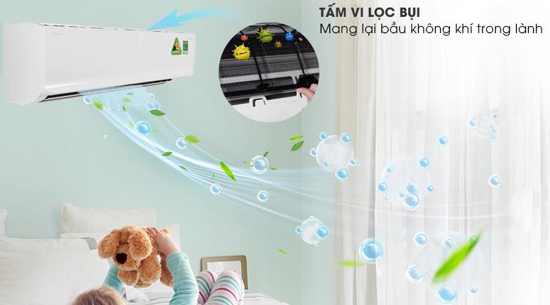 Tấm lọc kháng khuẩn - Điều hòa 2 chiều Daikin Inverter 17100 BTU FTHF50RVMV