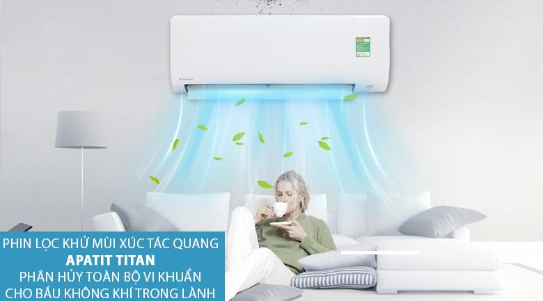 Apatit titan - Máy lạnh Daikin 1 HP FTC25NV1V