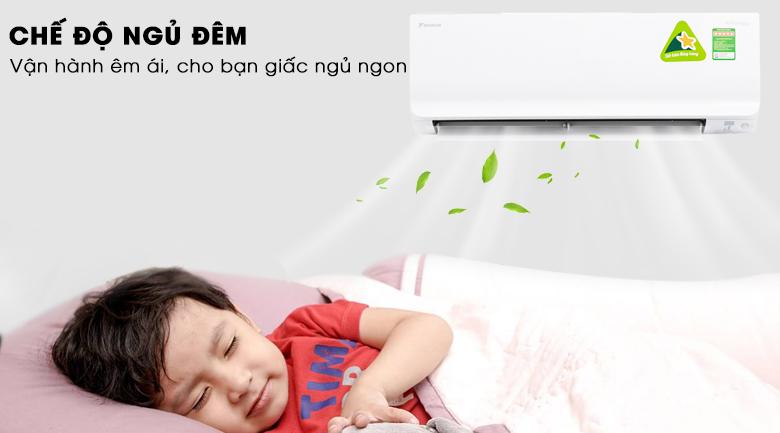 Chế độ ngủ đêm - Máy lạnh Daikin Inverter 1.5 HP ATKC35TAVMV