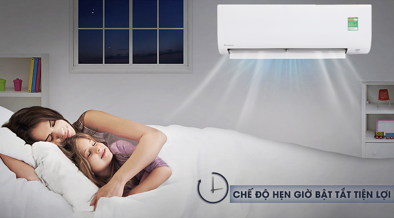 Chức năng hẹn giờ - Máy lạnh Daikin 1.5 HP FTC35NV1V