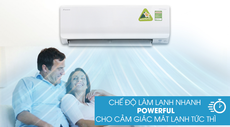 Powerful - Máy lạnh Daikin Inverter 1.0 HP ATKC25TAVMV