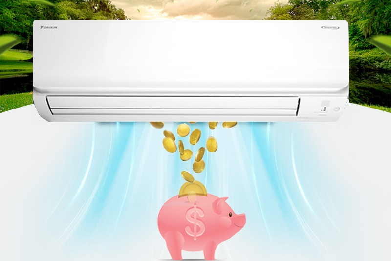 Máy lạnh Inverter làm lạnh ổn định, tiết kiệm điện năng