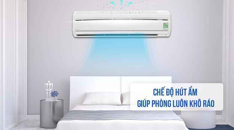 Chế độ hút ẩm - Máy lạnh Daikin 2.0 HP FTC50NV1V