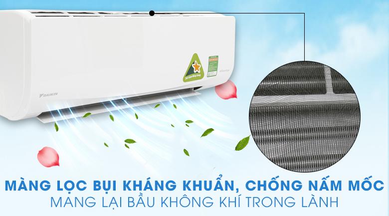 Tấm vi lọc bụi - Máy lạnh Daikin Inverter 1 HP FTKQ25SAVMV
