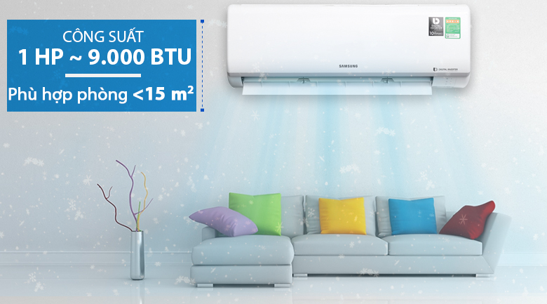 Máy lạnh Samsung Inverter 1 HP AR10NVFTAGMNSV