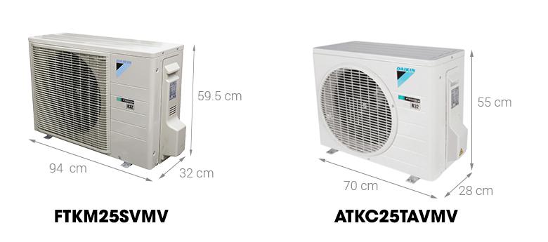 Dàn nóng - Máy lạnh Daikin Inverter 1 HP FTKM25SVMV
