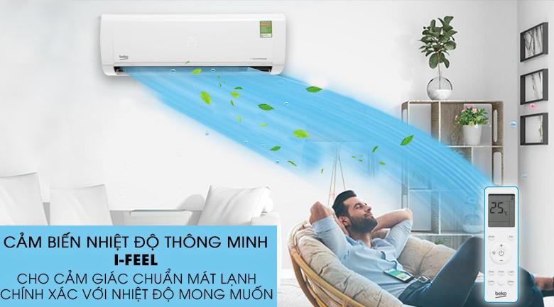 Cảm biến nhiệt độ thông minh RealSet - Máy lạnh Beko Inverter 1 HP RSVC09VY