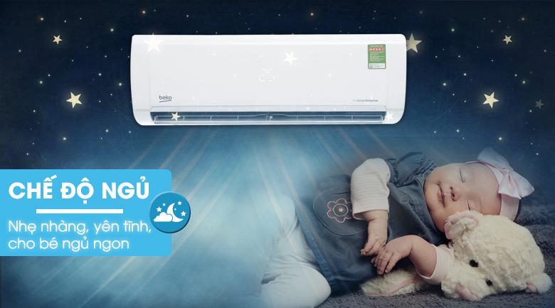 Chế độ ngủ Sleep - Máy lạnh Beko Inverter 1 HP RSVC09VY