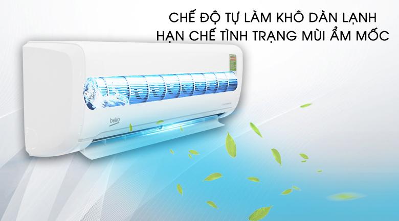 Tự làm sạch - Máy lạnh Beko Inverter 1 HP RSVC09VY