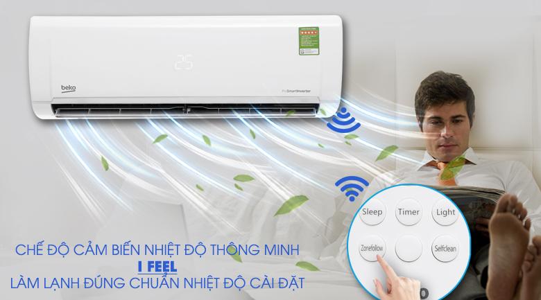 RealSet - Máy lạnh Beko Inverter 1.5 HP RSVC12VY