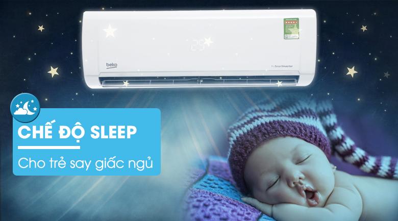 Chế độ ngủ Sleepmode - Máy lạnh Beko Inverter 1.5 HP RSVC12VY