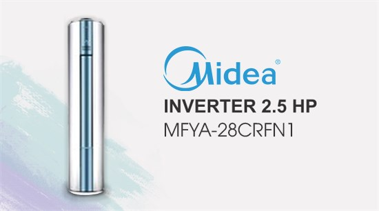 Midea Inverter 2.5 HP
