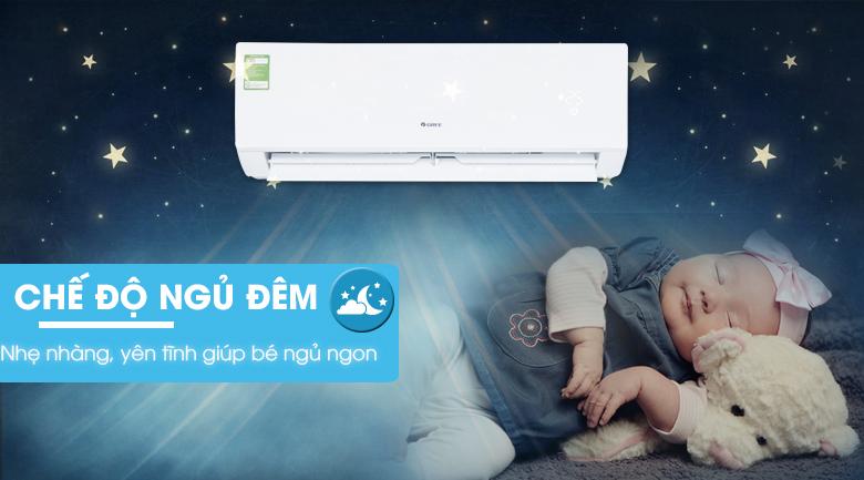 Chế độ ngủ đêm - Máy lạnh Gree 1 HP GWC09IB-K3NNB2