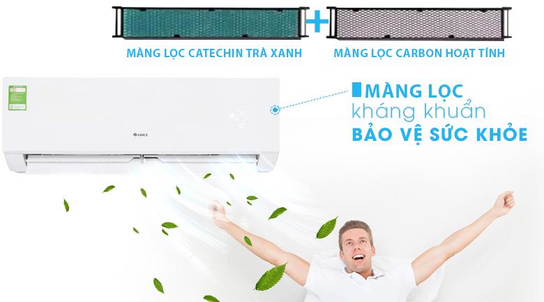 Màng lọc kháng khuẩn - Máy lạnh Gree 1 HP GWC09IB-K3NNB2