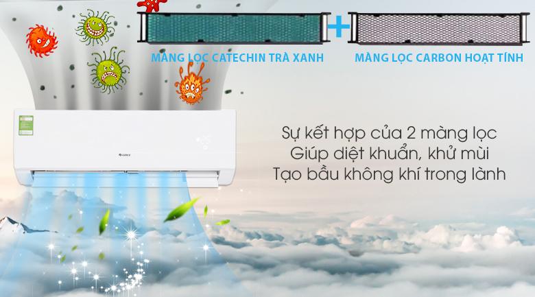 Màng lọc kháng khuẩn - Máy lạnh Gree 1.5 HP GWC12IC-K3NNB2H