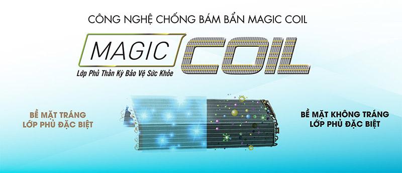 Dàn lạnh chống bám bẩn Magic Coil tiết kiệm chi phí bảo trì, loại bỏ môi trường sinh sôi của vi khuẩn