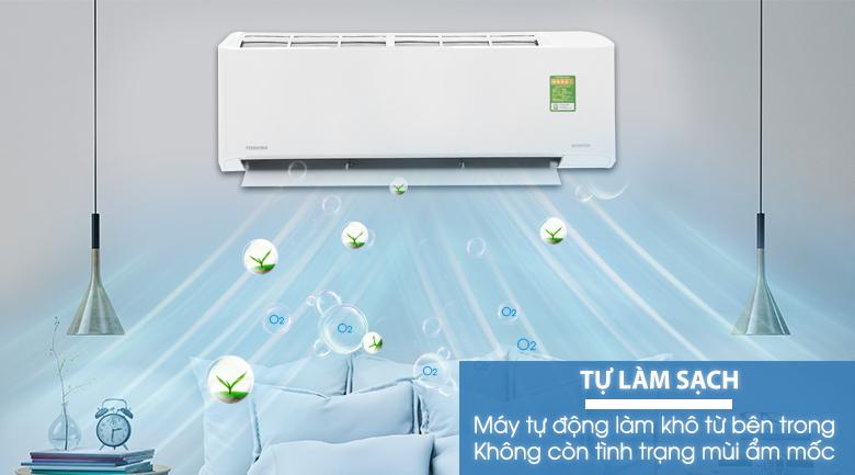 Tính năng tự làm sạch - Máy lạnh Toshiba Inverter 1.5 HP RAS-H13FKCVG-V